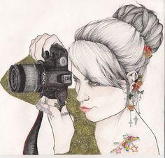 That'd be so cool but me, and a Nikon.. I wish I could draw.
