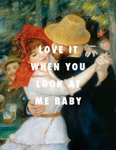 Love it when you thug me at the Bougival Dance in the Bougival (1883), Pierre-Auguste Renoir / Mesmerize, Ja Rule ft. Ashanti