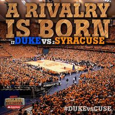 Duke v. Syracuse in the Carrier Dome February 2014 Syracuse wins in OT What an awesome game! Syracuse Basketball, Sports Basketball, Duke Basketball, Basketball Shoes, Cameron Crazies, Duke Vs, Basketball Game Tonight, College Game Days