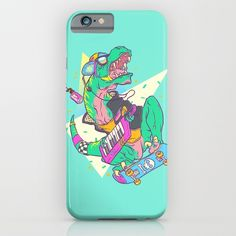 Ju-RAD-ssic Park iPhone & iPod Case