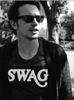 James Franco's got swag.