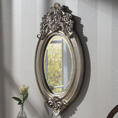 Yearn Mirrors Windsor Crested Wall Mirror