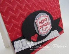 masculine birthday card stampin' up