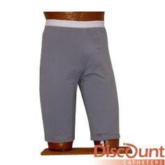 Uro Concepts - IURO1GRYM - Uro Bag Reusable Latex Leg Bag with T-Valve and Undergarment System, Medium