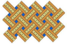 Brick stitch pattern