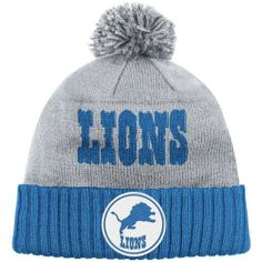 Detroit Lions Grey Mitchell & Ness Throwbacks Cuffed Pom Knit Hat by Mitchell & Ness. $23.49. Keep your dome warm and relive memories of past Detroit Lions teams with this Detroit Lions Grey Mitchell & Ness Throwbacks Cuffed Pom Knit Hat. Add a little old school style to your wardrobe with this cozy hat. Features a jacquard team wordmark logo to go along with teams retro logo. This is an absolute must-have for any Detroit Lions fan's headwear collection.