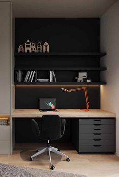 Furniture Home Office Design Ideas. Hence, the demand for residence offices.Whether you are planning on including a home office or remodeling an old area into one, below are some brilliant home office design ideas to assist you start. Mesa Home Office, Home Office Setup, Home Office Space, Home Office Desks, Home Office Furniture, Office Ideas, Office Decor, Furniture Ideas, Office Safe