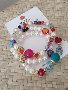 Etsy Jewelry, Boho Jewelry, Handmade Jewelry, Etsy Handmade, Jewelry Shop, Handmade Gifts, Jewellery, Bracelet Set, Bracelet Making