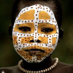 Africa | Portrait of a Surma girl.  Omo Valley, Ethiopia | © Boaz Images