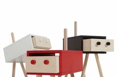 Neotoi Family: Furniture With Personality - Design Milk #Furniture #PatternPod