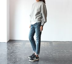 Tomboy Style, Super Casual|Source Death by Elocution