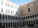 Courtyard Ducal Palace Venice