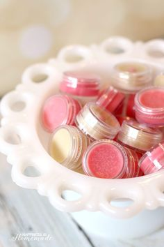Make your own lip balm or lip gloss in just ten minutes! This is a fantastic DIY homemade gift idea with unlimited flavor and color options! I'm one of those people who can never have enough lip balm – seriously, I just went digging through my purse and discovered that I have NINE of them in there! With …