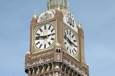 Mecca World Clock Tower Barad-dûraka aka Makkah Royal Clock Tower aka The Abraj Al-Bait Towers