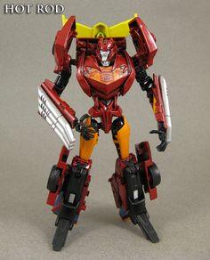 Hot Rod - custom Transformer