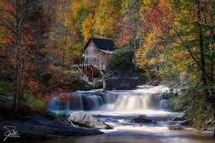 Glade Creek Grist Mill | Flickr - Photo Sharing!