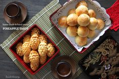 Makes fragrant, buttery, melt-in-your-mouth pineapple tarts, using home-made pineapple paste (filling) and pastry dough.
