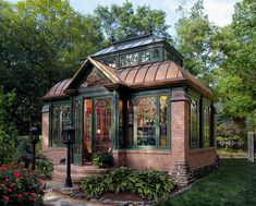Custom Brick and Stone Conservatories | Tanglewood Conservatories, Ltd. Glass Conservatory, Conservatory Design, In Ground Spa, Room Wanted, Cabin In The Woods, A Frame Cabin, Cozy Cabin, Cabin Tent, Brick And Stone