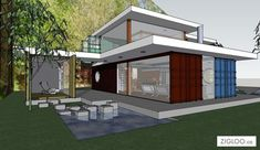Shipping Container House Plans Ideas 41 #ShippingContainerHomes