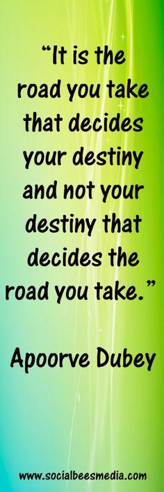 Inspirational Quote www.socialbeesmedia.com