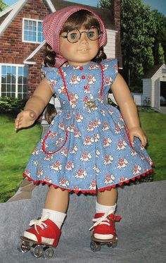Skate dress 1 by Sugarloaf Doll Clothes, via Flickr
