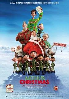 ver Operacion Regalo (Arthut Christmas) 2011 online descargar HD gratis español latino subtitulada