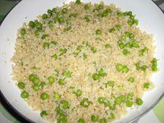 Alföldi receptek: Zöldborsós bulgur