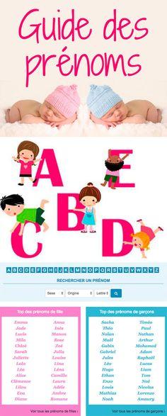 Quel prénom pour bébé ? Signification et origine des prénoms, prénoms de fille ou de garçon, date de fête, dérivés… notre Guide des prénoms vous propose plein d'idées pour votre bébé. #prénom #prenomfille #prenomgarçon #prenombebe #bébé