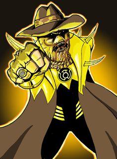 Scarecrow_Sinestro_corp_by_James Marsh