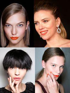 Naranja, el nuevo rosa… para el maquillaje