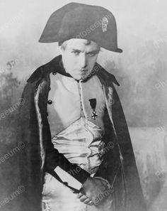 Charlie Chaplin As Napoleon Bonaparte 1935 Vintage 8x10 Reprint Of Old Photo