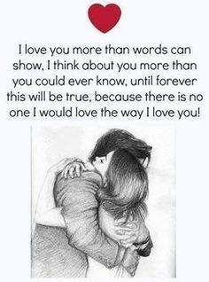 i love you more than anything in my life images will express your lovely dovely emotions and most inspirational deep love quotes for him or her brings up all kinds of additional emotions in a cute way. Cute Love Quotes, Heart Touching Love Quotes, Soulmate Love Quotes, Love Husband Quotes, Love Quotes For Her, Love Yourself Quotes, Qoutes About Love, Quotes For Loved Ones, Love Quotes For Couples