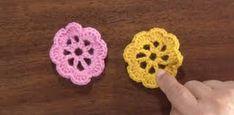 flores tejidas a crochet faciles principiantes