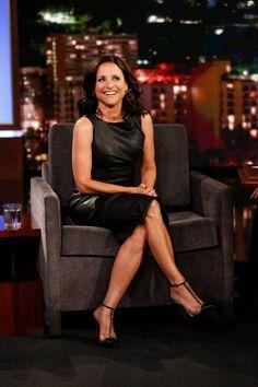 Julia Louis Dreyfus, Jimmy Kimmel Live, Powerful Women, Woman Face, Actors & Actresses, Celebs, Female, Lady, Elaine Benes