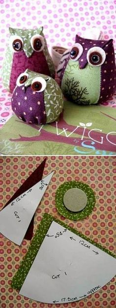 Glorious All Time Favorite Sewing Projects Ideas. All Time Favorite Top Sewing Projects Ideas. Fabric Toys, Fabric Birds, Fabric Crafts, Sewing Crafts, Sewing Projects, Craft Projects, Project Ideas, Hobbies And Crafts, Diy And Crafts
