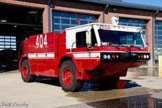 MMR FOAM 404 1987 Oshkosh 4x4 P-19 Crash Truck 1200 gpm - 1500 gals - 180 AFFF http://setcomcorp.com/airport_csb.html