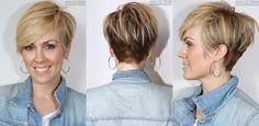 Trendy korte kapsels najaar 2015: foto's van voor- achter- en zijkant!!