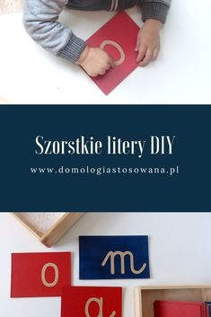 Szorstkie litery DIY – małe litery - Domologia StosowanaDomologia Stosowana