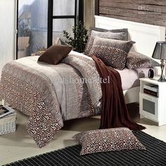 Wholesale Bed In a Bag - Buy Hot Sale!Sexy Leopard Queen King Size 4pcs Bedding Sets/bedclothes/ Duvet Covers Bed Sheet/comforter Set/bedspread/bedclothes the Bed Linen, $83.0 | DHgate