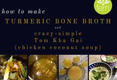Turmeric Bone Broth | FemFusion Fitness
