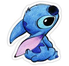 Stitch from Lilo & Stitch by Disney Disney Stitch, Lilo Ve Stitch, Cute Disney Drawings, Disney Sketches, Cool Drawings, Drawings Of Stitch, Drawing Disney, Drawings Of Disney Characters, Pencil Drawings