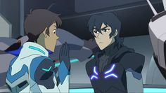 Do you see it, Lance is slightly BLUSHING