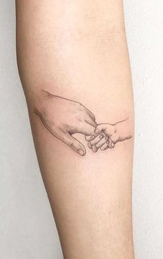 Baby Hand Tattoo, Tattoo Mama, Tattoo For Son, Tattoos For Kids, Family Tattoos, Little Tattoos, Tattoos For Women Small, Small Tattoos, Tattoos For Baby Boy