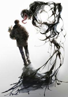 Eddie and Venom Venom Comics, Marvel Venom, Marvel Dc Comics, Marvel Heroes, Marvel Avengers, Eddie Brock Venom, Venom Art, Arte Obscura, Spiderman Art