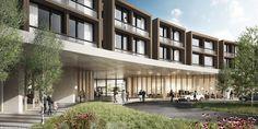 Diseño de Herzog & de Meuron para uno de los principales Hospitales de Dinamarca,Courtesy of Herzog & de Meuron