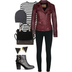 A fashion look from December 2014 featuring Proenza Schouler t-shirts, Goosecraft jackets and J Brand leggings. Browse and shop related looks.