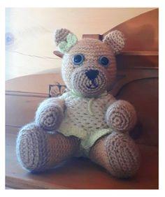 Roztomilá medvědí holčička na zakázku Dinosaur Stuffed Animal, Teddy Bear, Toys, Animals, Activity Toys, Animales, Animaux, Clearance Toys, Teddy Bears