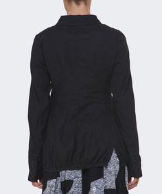 Rundholz Stretch Fit Linen Jacket