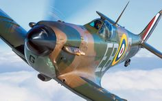 The Last of the Few: Stunning photographs of Spitfires in flight, in pictures