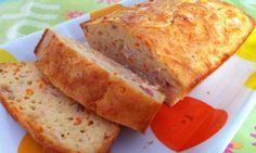 Pastel de bacon y zanahorias